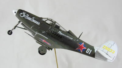 Maquette type Chasseurs de 41-airacobra-p-39n-russian-airacobra (Image Principale)