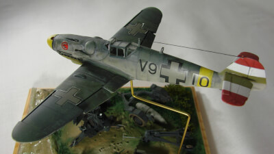Maquette type Chasseurs de 57-messershmitt-bf-109g-6-hungarian-air-force (Image Principale)