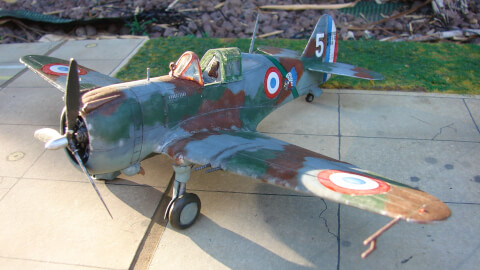 Image Principale pour 145-curtiss-h-75-hawk